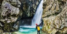 Canyoning dans les alpes françaises