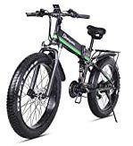 Vélo électrique 1000W vélo de Montagne Pliant